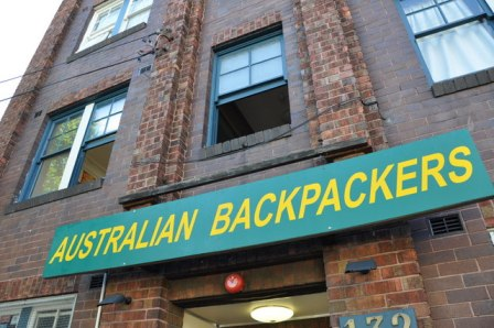 backpacker hostel en australie