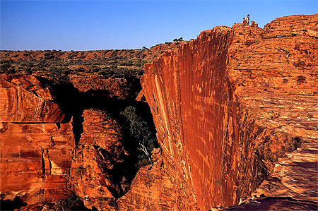 kings canyon en australie