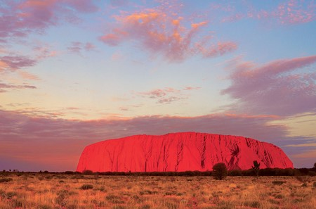 Uluru ayer rock australie